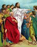 Jesus Instructs the Disciples